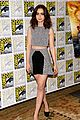 lily collins jamie bower campbell city of bones at comic con 11
