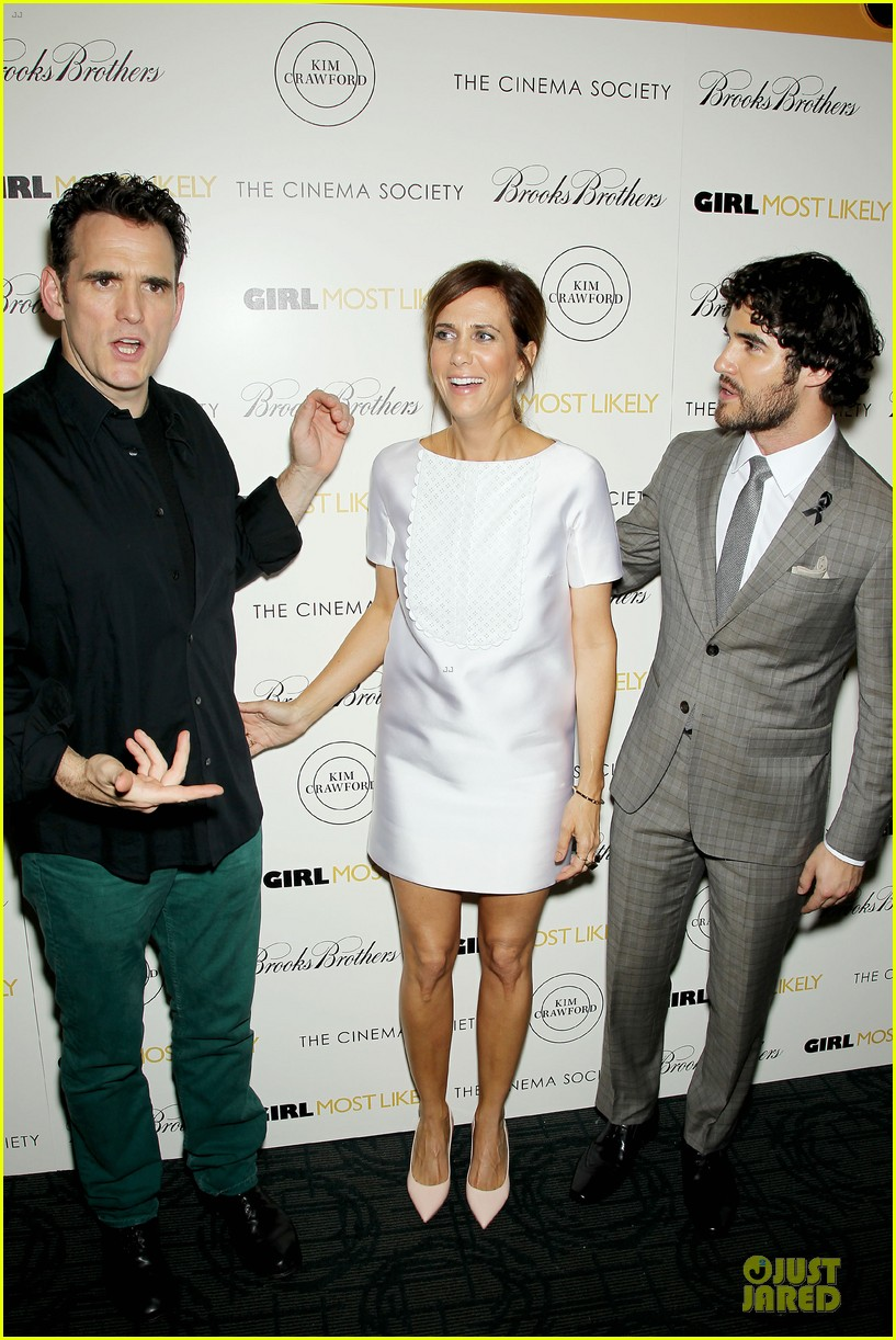 darren criss girl most likely screening after cory monteith death 12