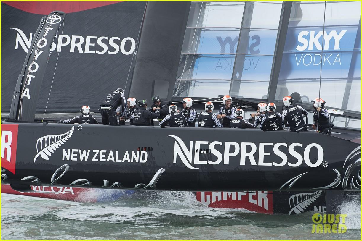 tom cruise connor emirates team new zealand sailing race 17