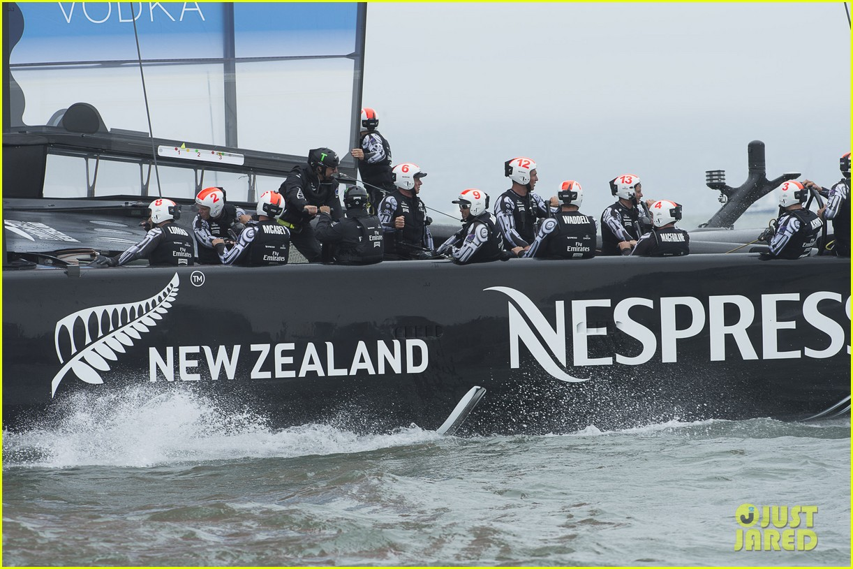 tom cruise connor emirates team new zealand sailing race 19