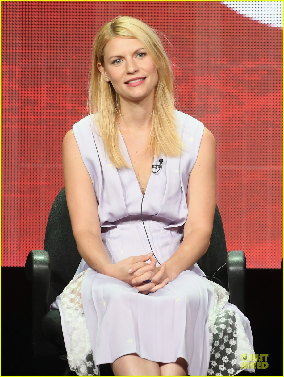claire danes damian lewis homeland at showtime summer tca tour 07