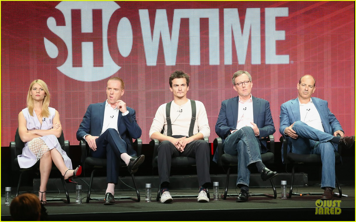 claire danes damian lewis homeland at showtime summer tca tour 082919812