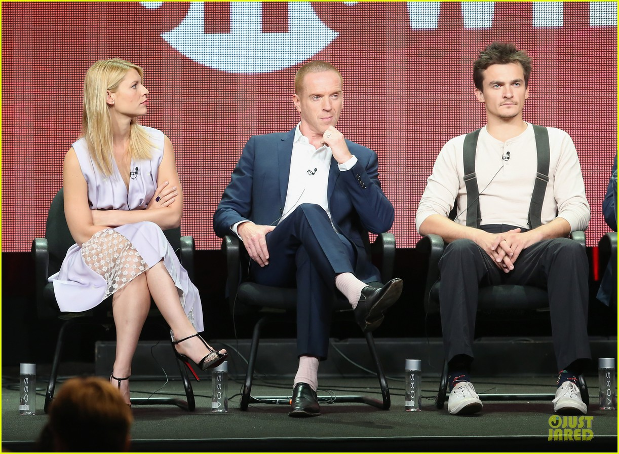 claire danes damian lewis homeland at showtime summer tca tour 11