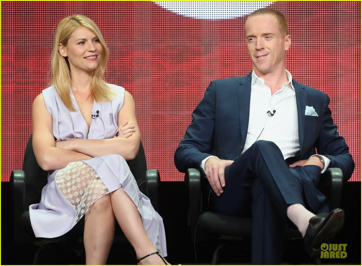 claire danes damian lewis homeland at showtime summer tca tour 15