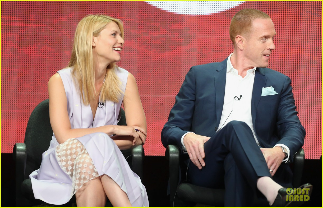 claire danes damian lewis homeland at showtime summer tca tour 18