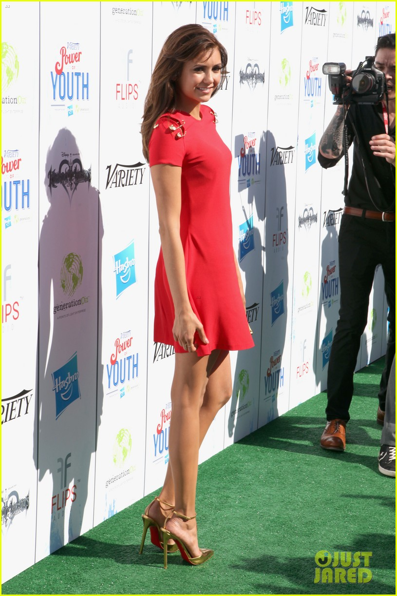 nina dobrev power of youth 2013 03
