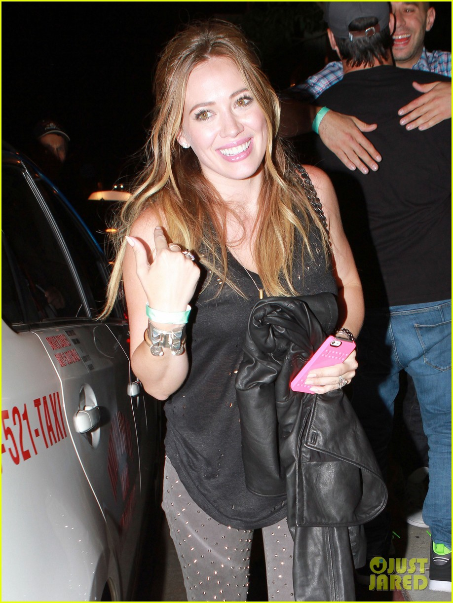 hilary duff bootsy bellows babe with mike comrie 07