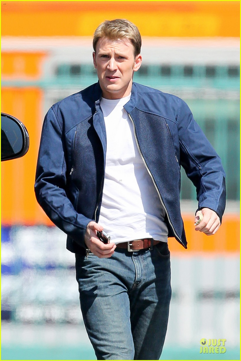 chris evans captain america 2 set after beyonce concert 02