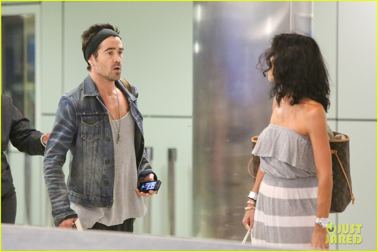 colin farrell spiky hair headband for lax look 062911312