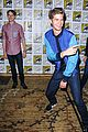 andrew garfield jamie foxx amazing spider man 2 at comic con 01