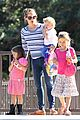 jennifer garner kids park date after jimmy kimmel wedding 01