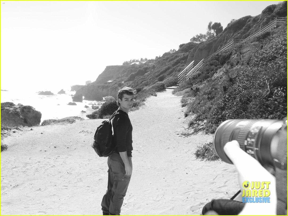 garrett clayton jj spotlight behind the scenes 07
