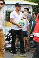 cam gigandet debuts baby rekker on family disney trip 19