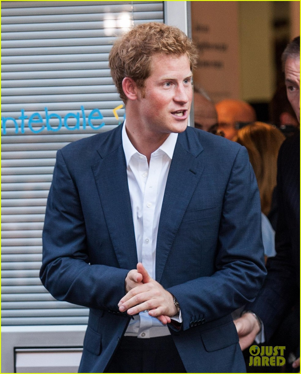 Prince Harry Steps Out After Royal Baby Prince George's
