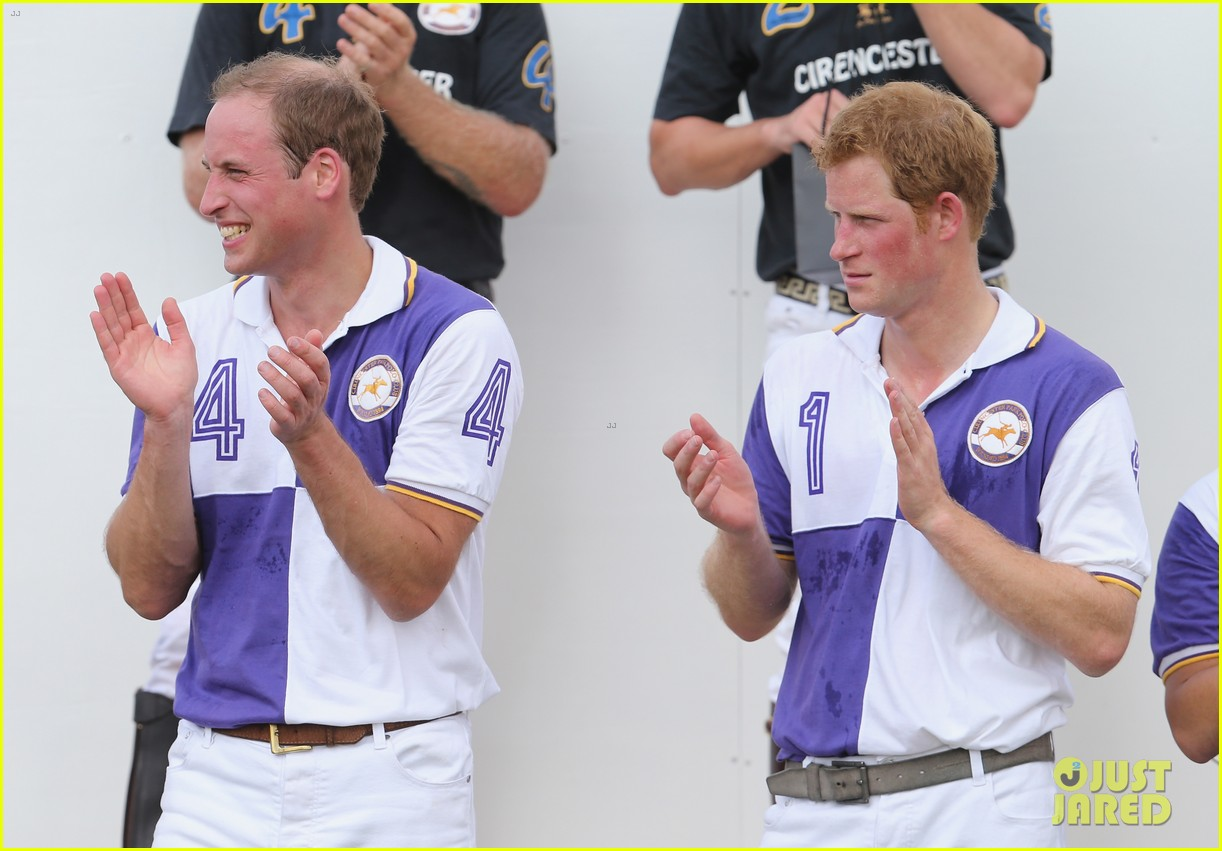 prince william harry jerudong trophy charity polo match 14