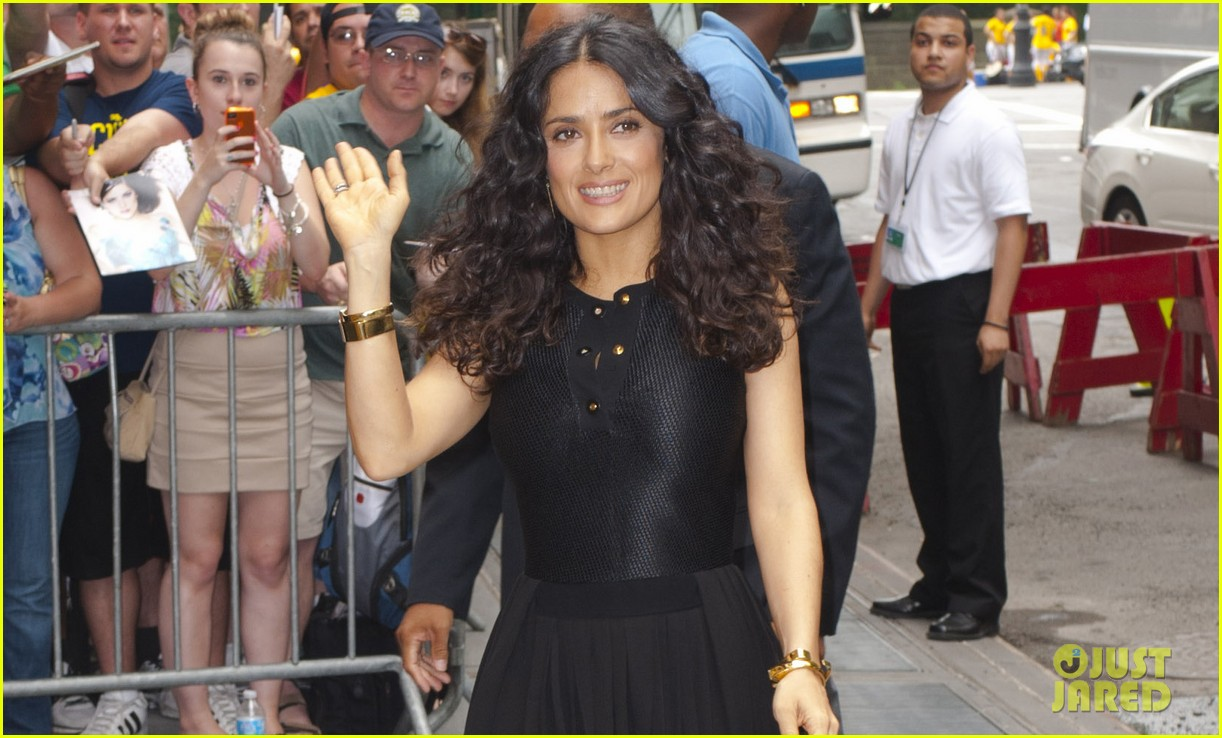 salma hayek adam sandler promote grown ups 2 before premiere 042907278
