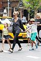 heidi klum martin kirsten spider man on broadway with the kids 43