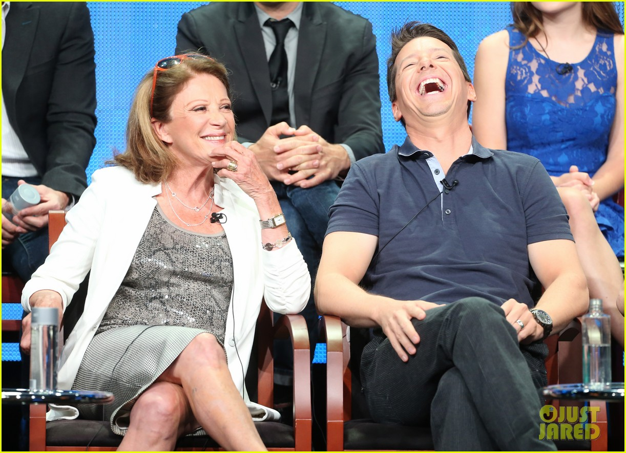 megan hilty sean hayes nbc summer tca panel 20