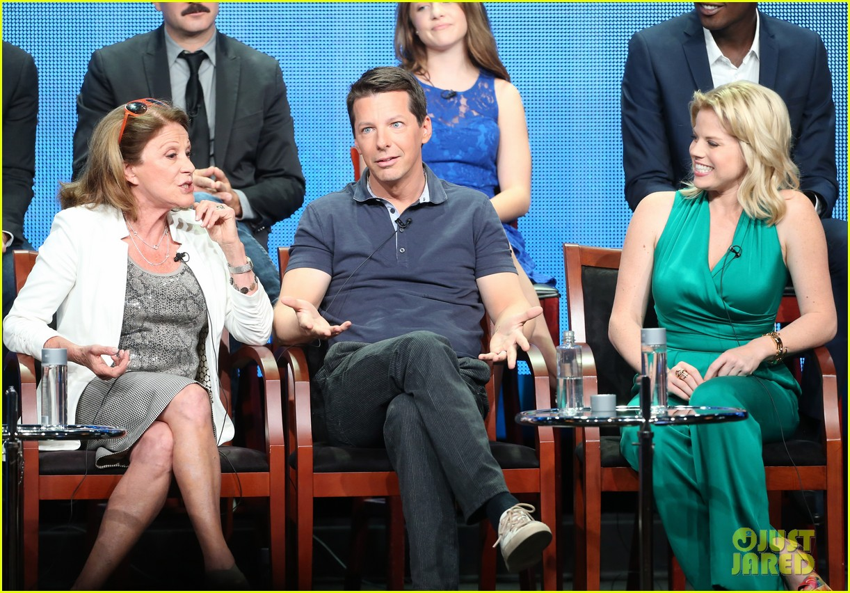 megan hilty sean hayes nbc summer tca panel 28