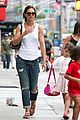 katie holmes outfit change after suri gymnastics class 11