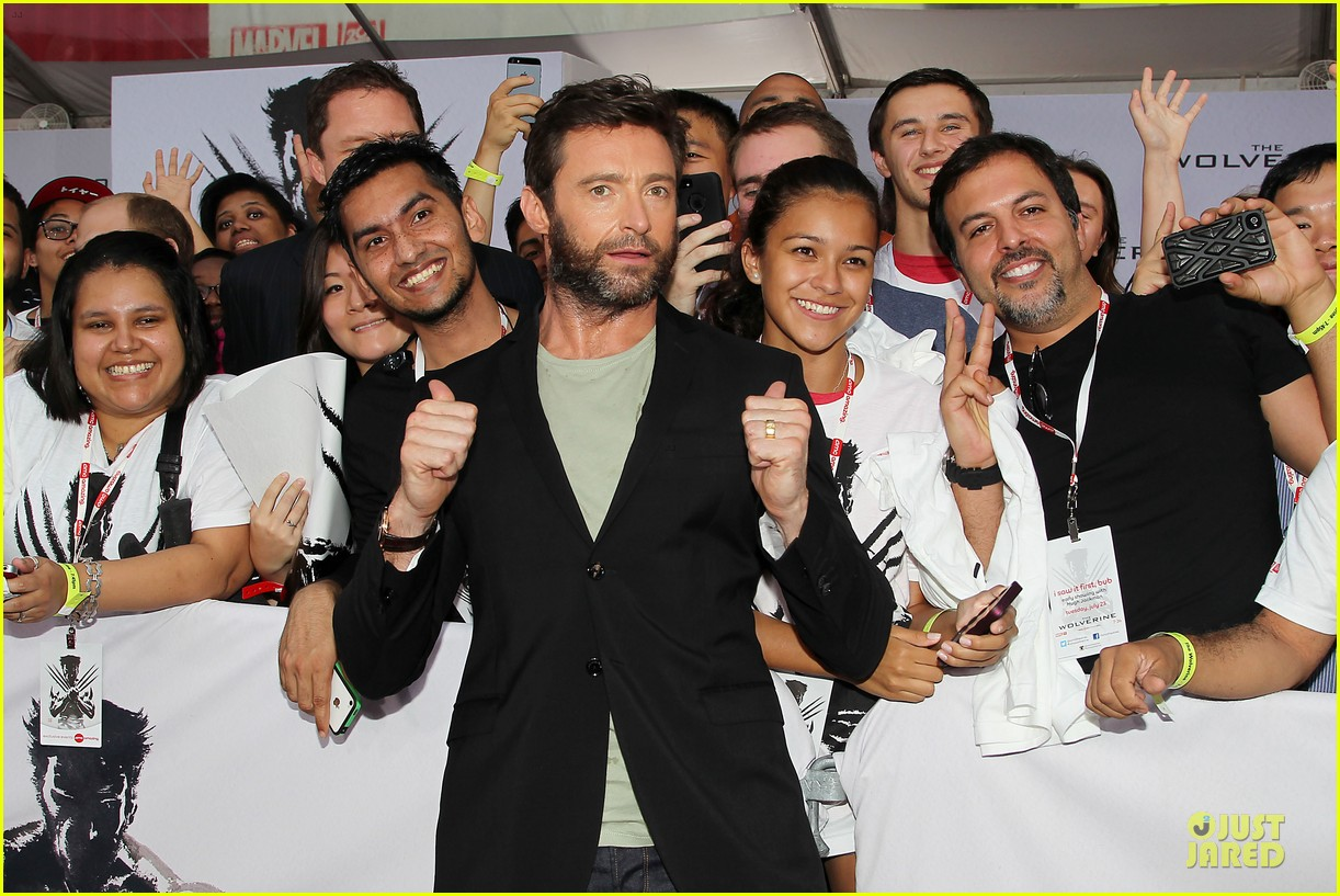 hugh jackman wolverine fan screening 112915431