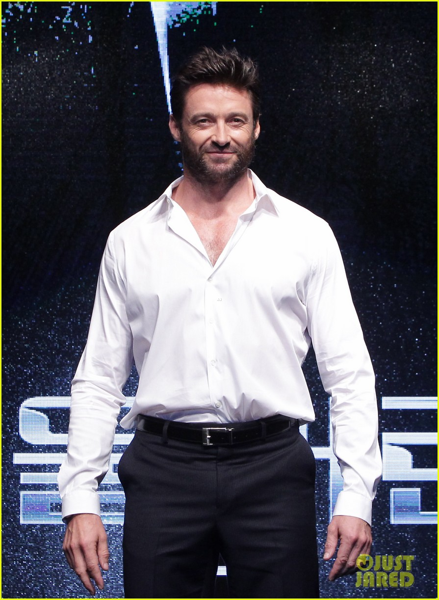 hugh jackman wolverine press conference in seoul 032909661