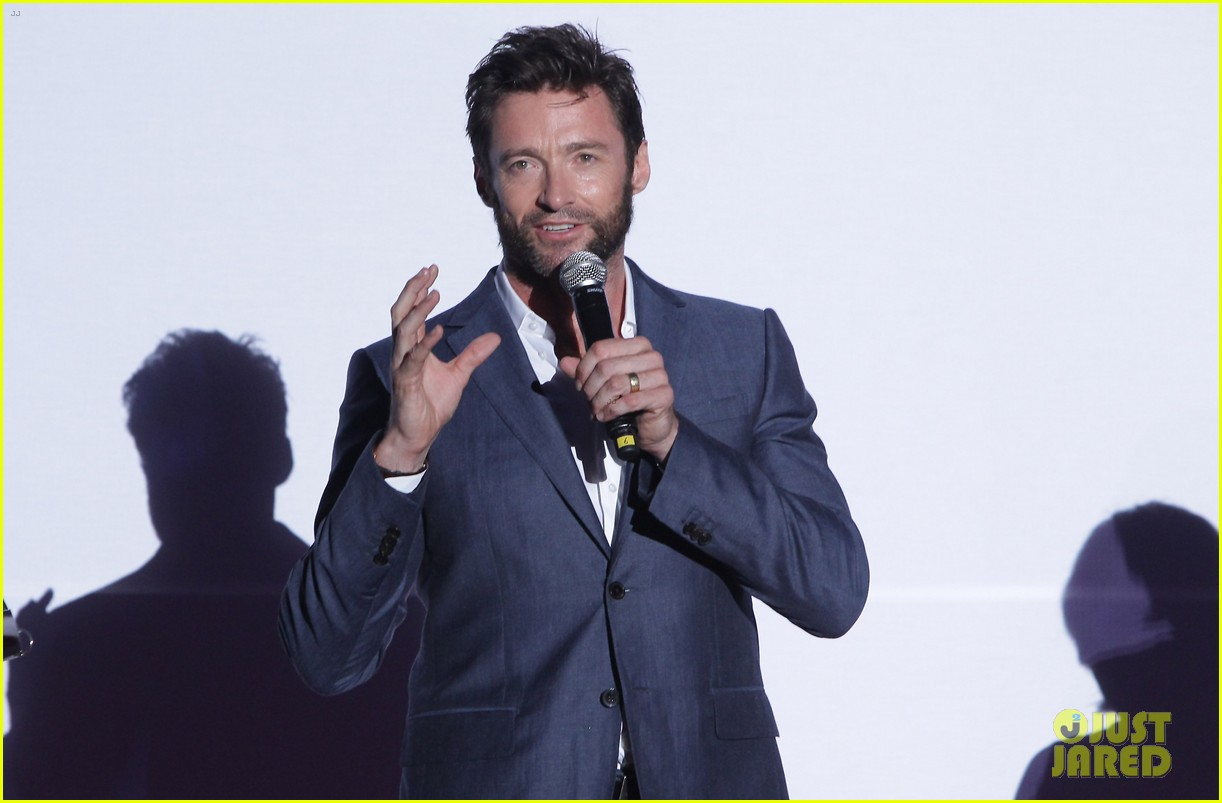 hugh jackman the wolverine south korea premiere 11