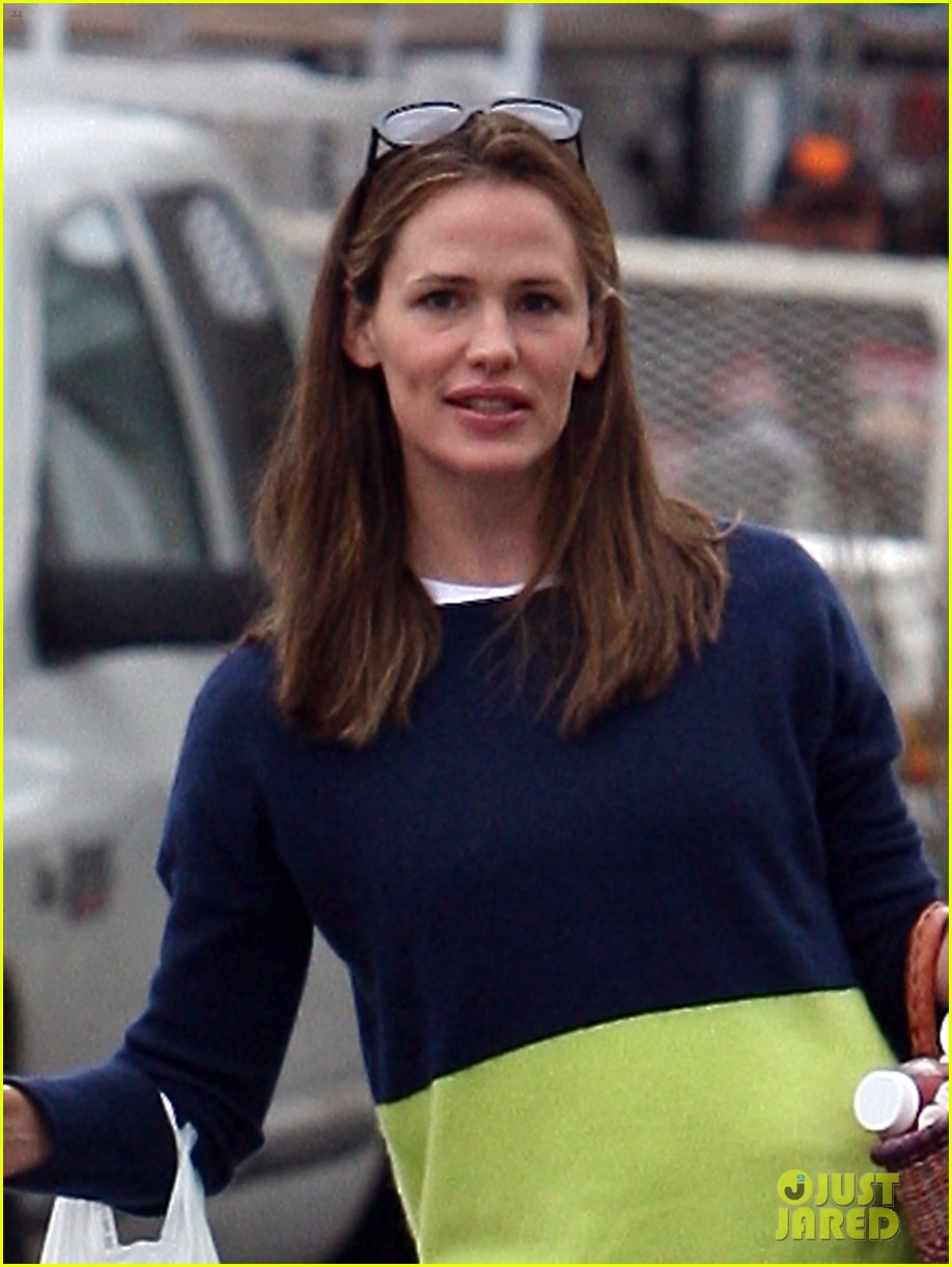 jennifer garner mother daughter morning with violet 02