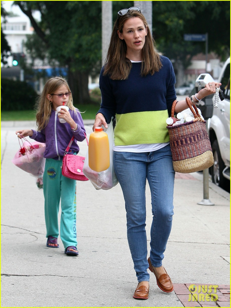 jennifer garner mother daughter morning with violet 13