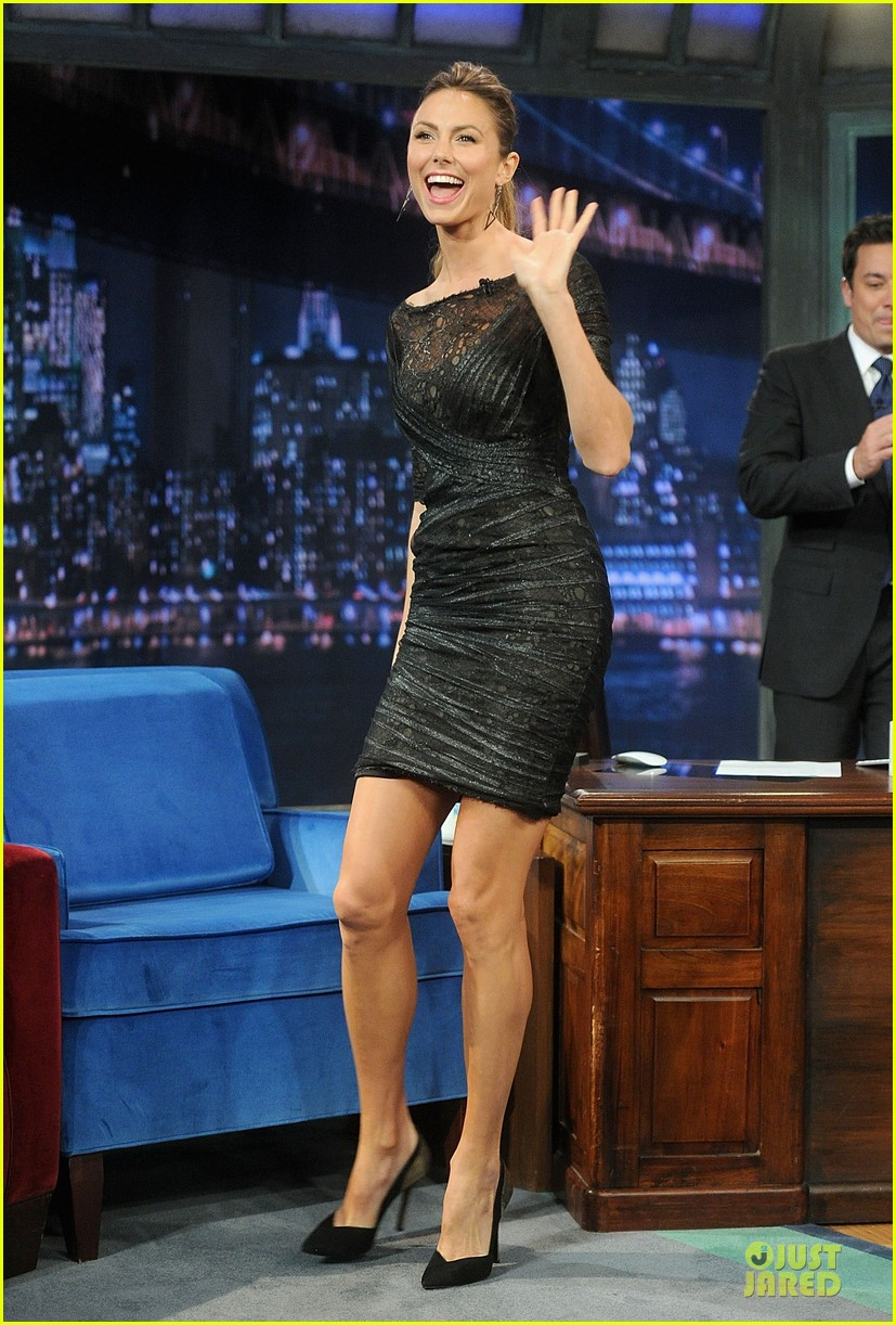 Stacy Keibler Joins Jesse Rippers Fallon 03 John Stamos