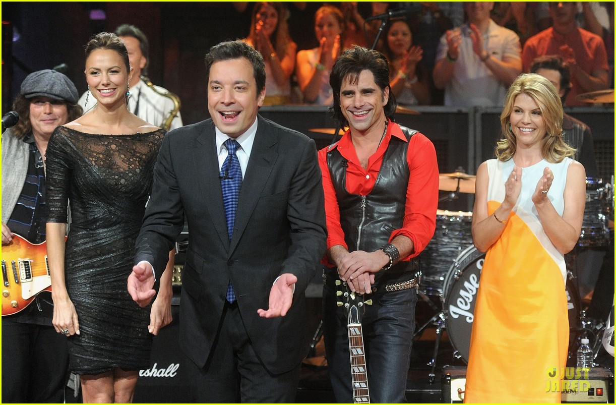 stacy keibler joins jesse the rippers on fallon 06