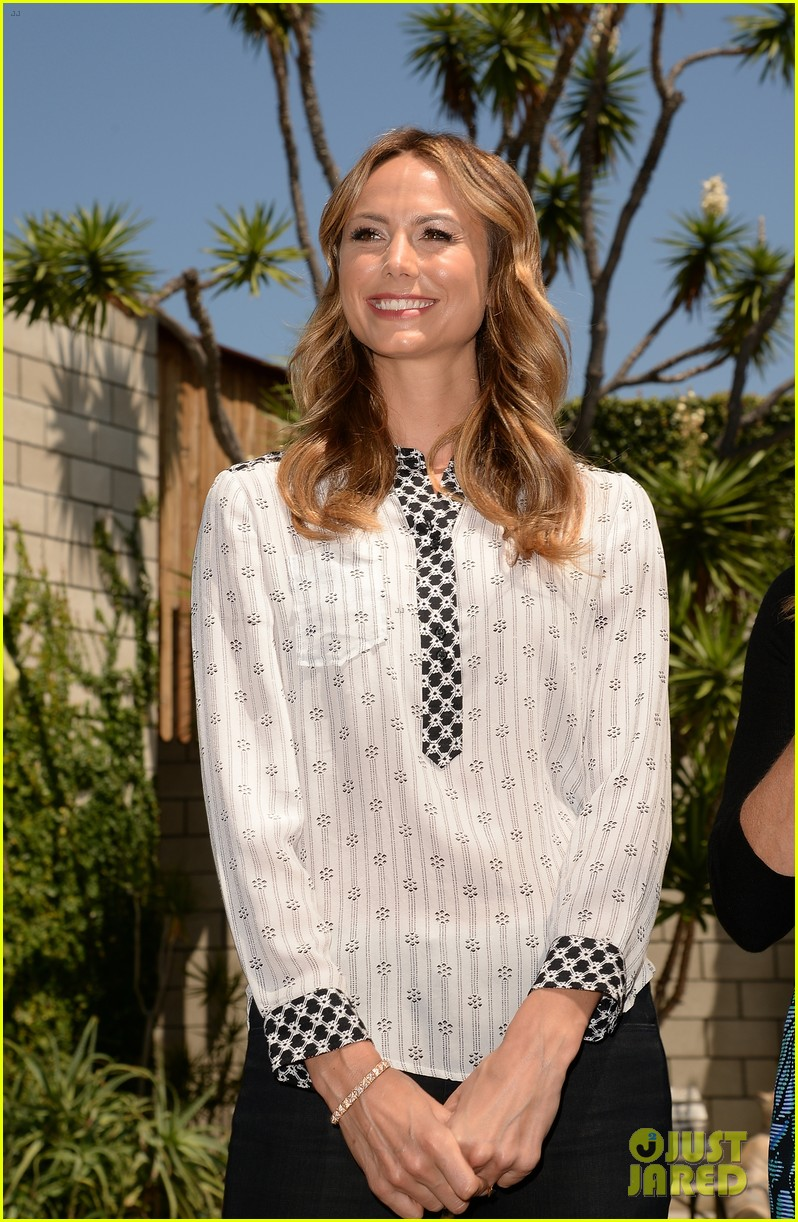 stacy keibler promote new show after george clooney split 22