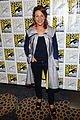 minka kelly michael ealy almost human at comic con 17