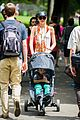 miranda kerr central park morning with flynn frankie 15