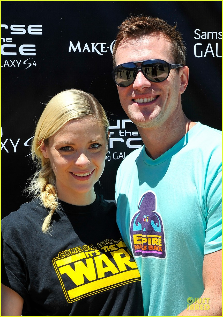 jaime king kyle newman course of the force relay 062906951