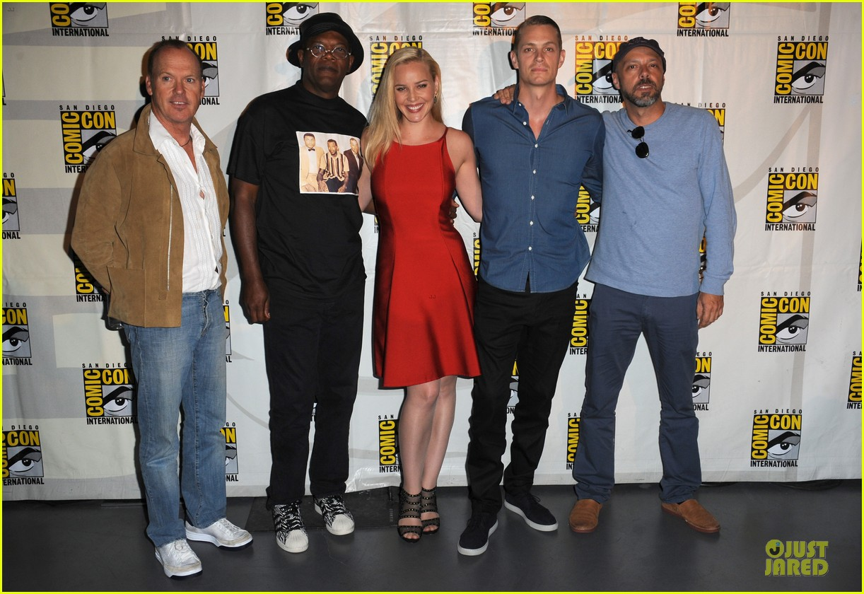 joel kinnaman abbie cornish robocop at comic con 012914062