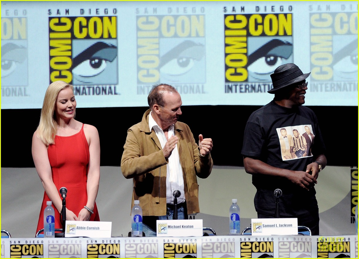 joel kinnaman abbie cornish robocop at comic con 08
