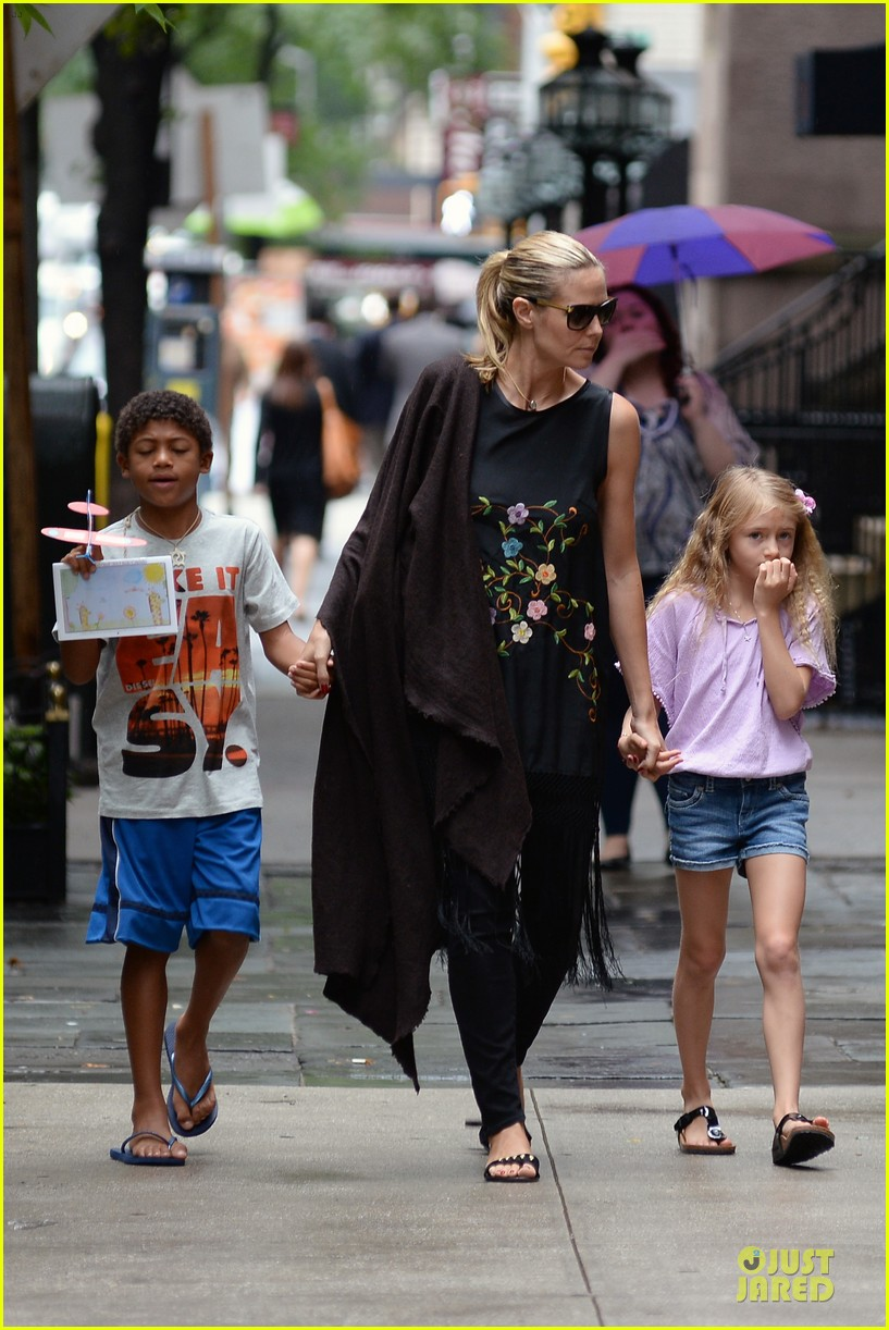 heidi klum matilda broadway play is fantastic 40