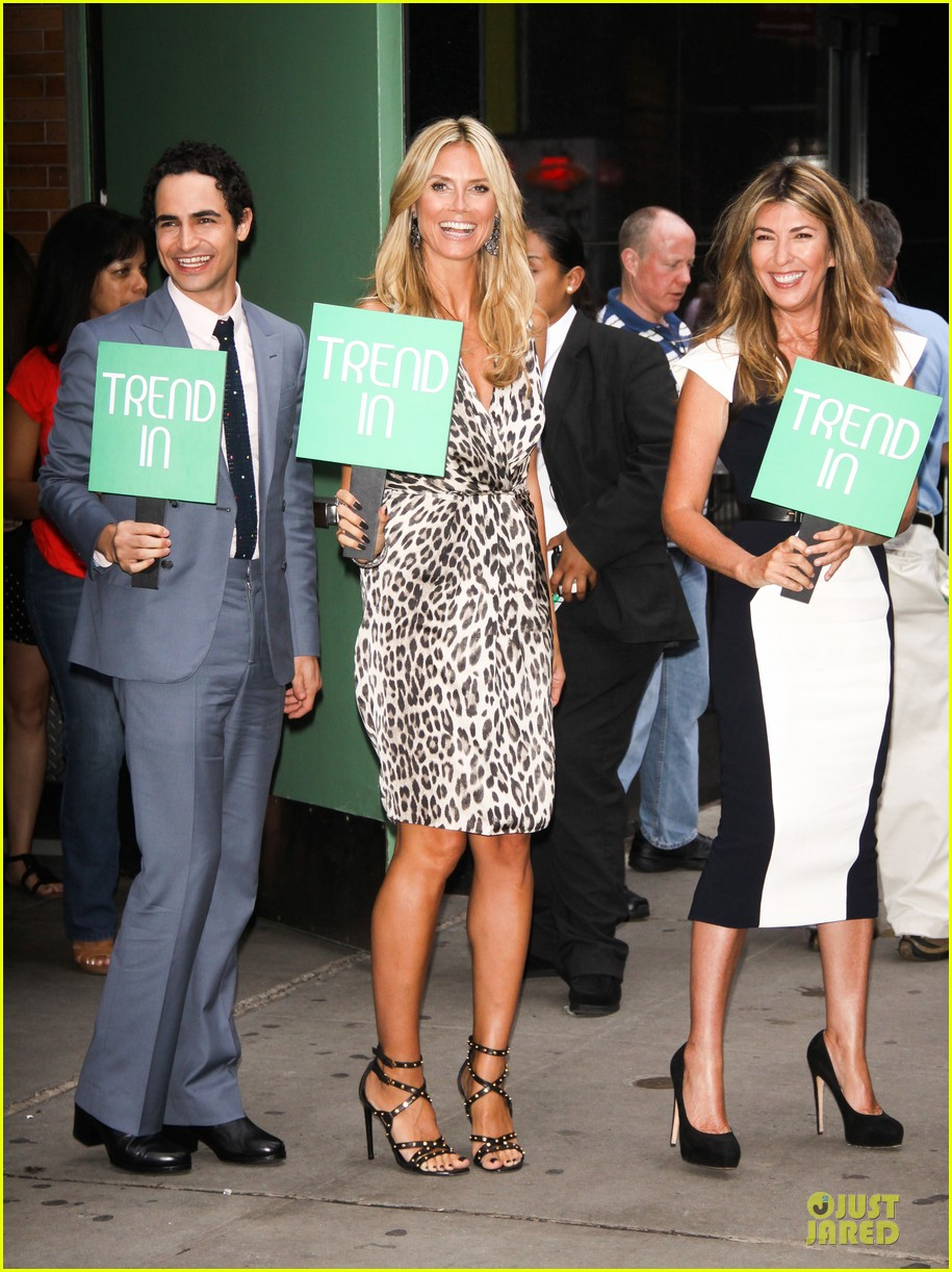 heidi klum trend in for project runway 31