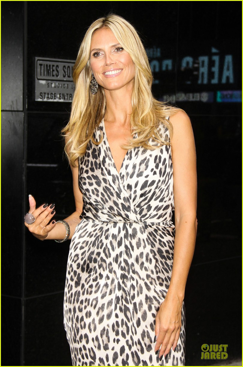 heidi klum trend in for project runway 32