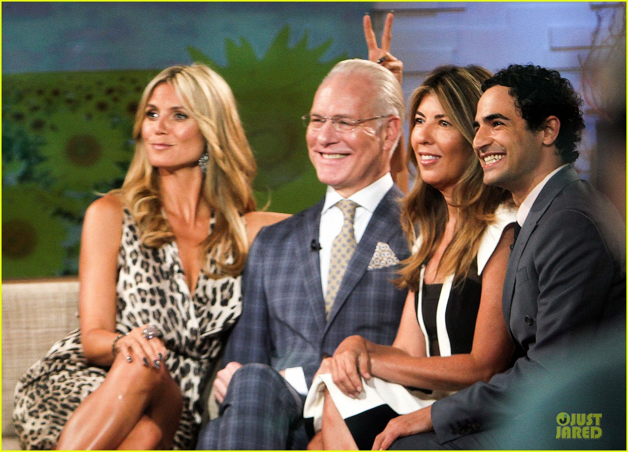 heidi klum trend in for project runway 34