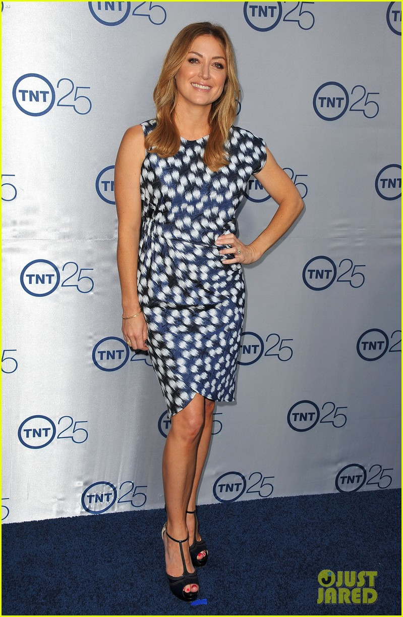 alexis knapp sasha alexander tnt's 25th anniversary party 15