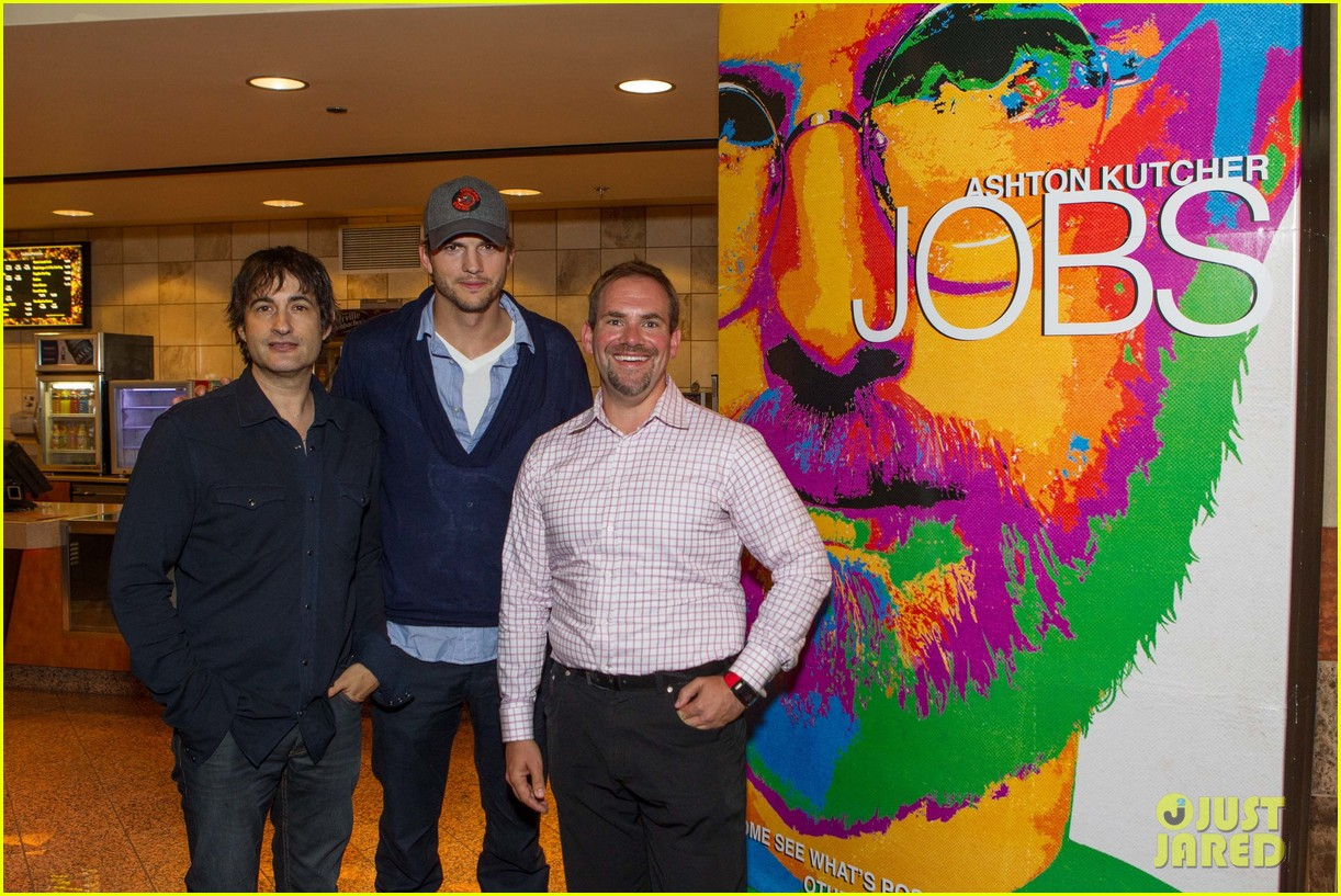 ashton kutcher jobs qa with director joshua michael stern 072917281