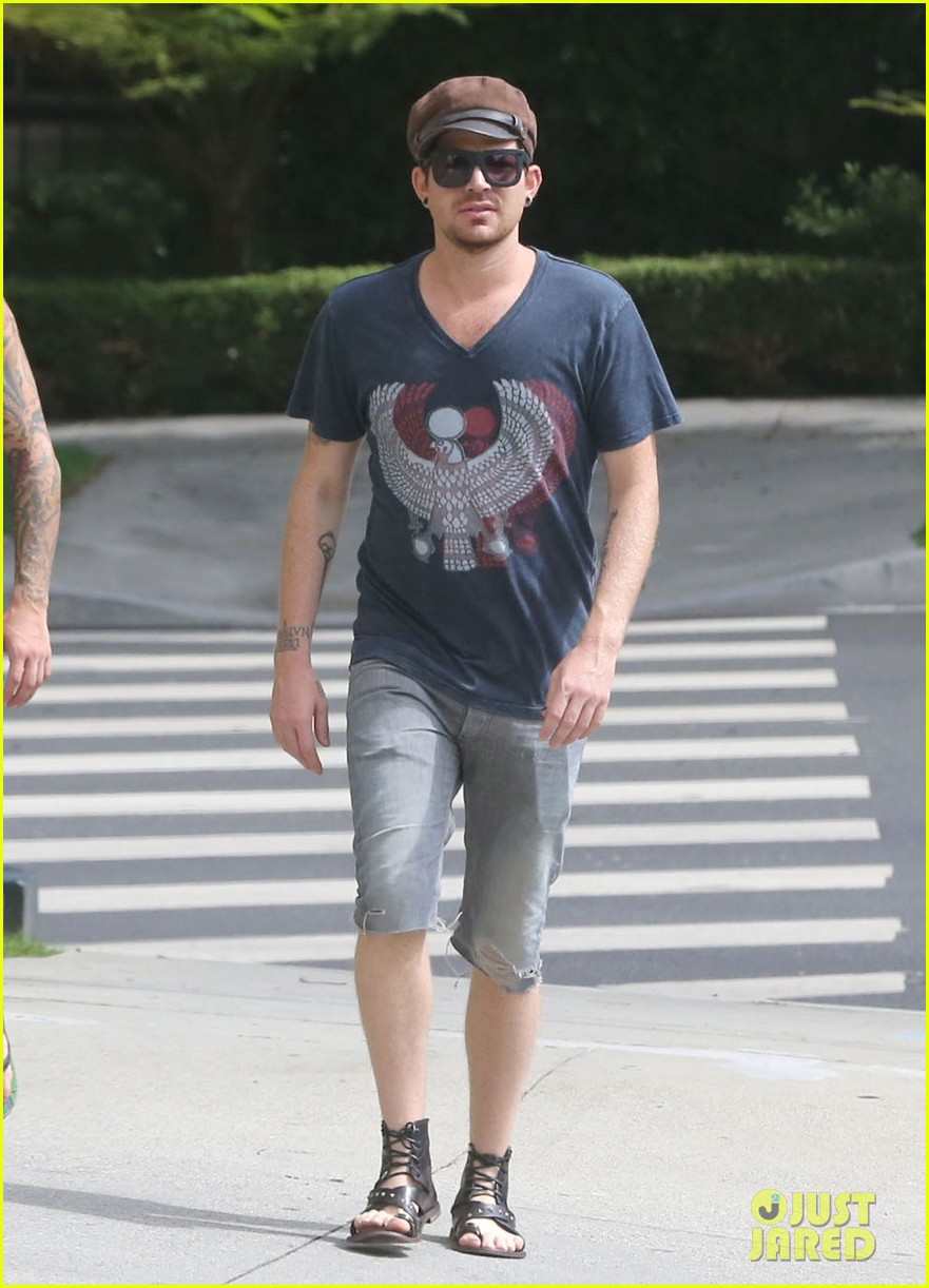 adam lambert steps out with ex sauli koskinen after cory monteith condolence 11