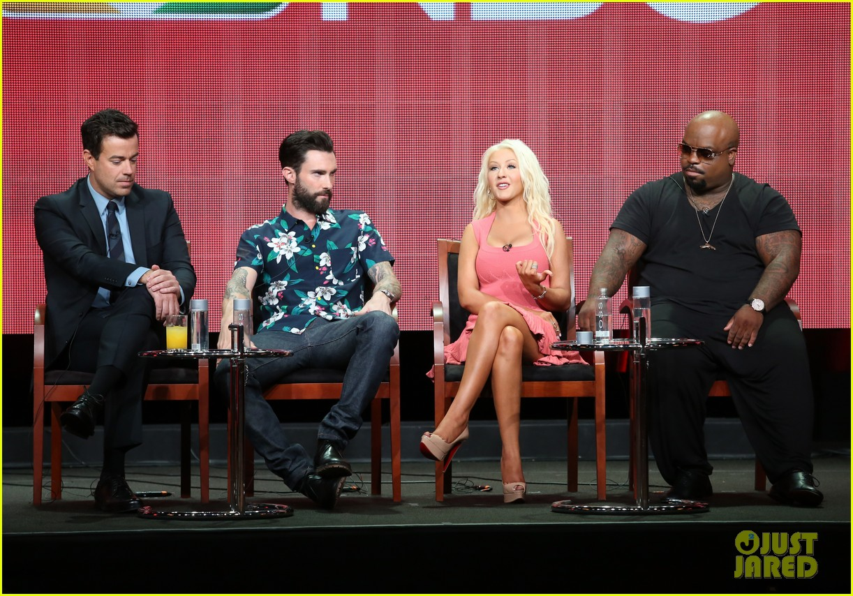adam levine cee lo green nbc summer tca tour event 032918256