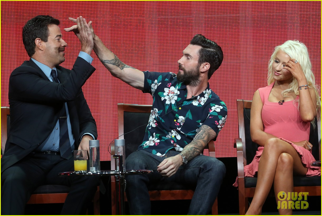 adam levine cee lo green nbc summer tca tour event 142918267