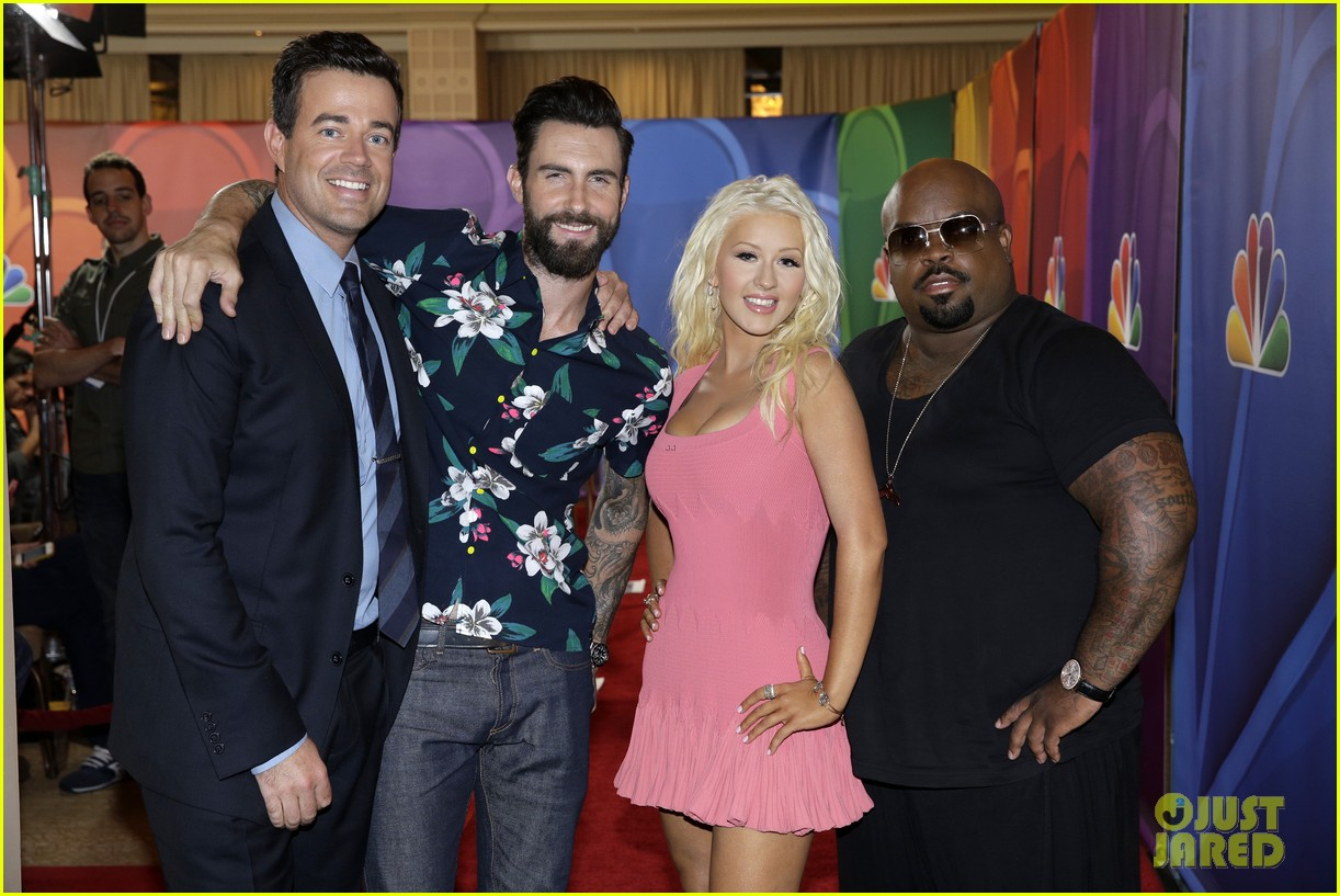 adam levine cee lo green nbc summer tca tour event 20