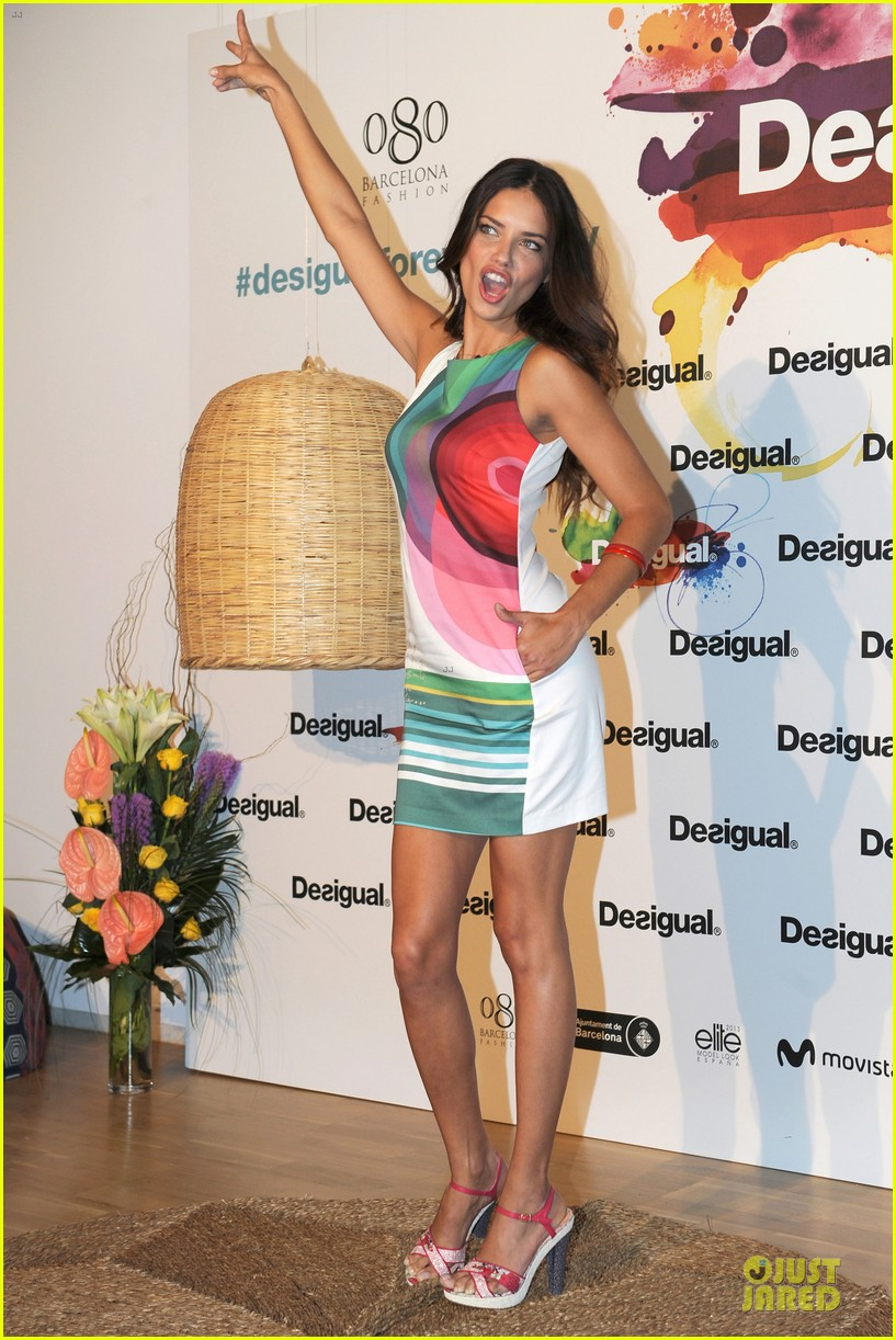 adriana lima desigual for everybody sex fun love event 03