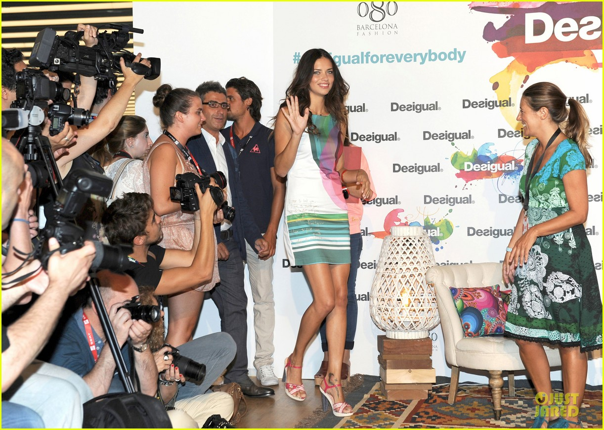 adriana lima desigual for everybody sex fun love event 062906830
