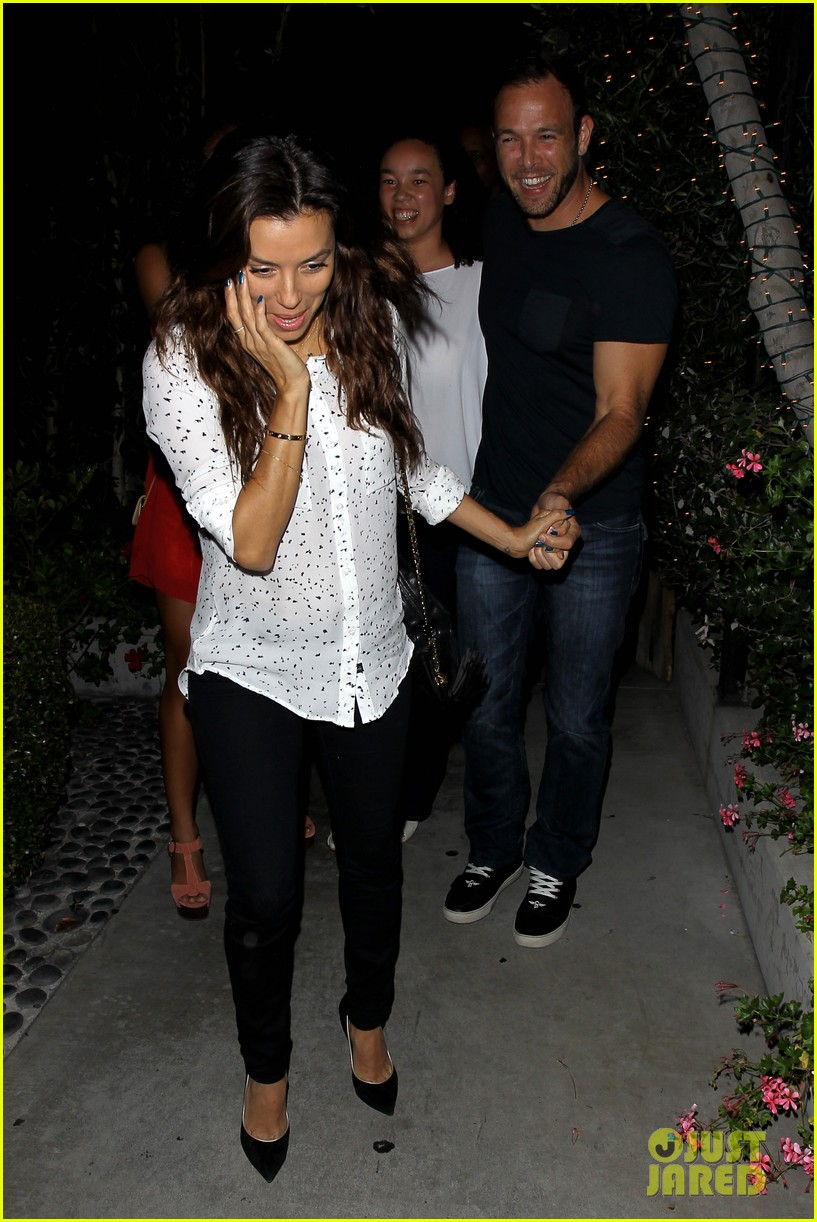 eva longoria ernesto aguello argo dinner after house hunting 072916968